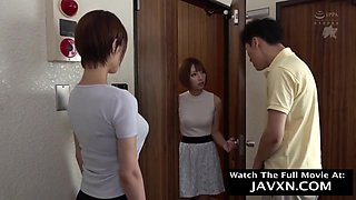 Japanese mommy likes casual sex adventures and intense orgasms, even with guys from the neighborhood