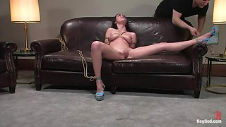 Casting Couch 8: Winter Sky, A Rope Slut is Born!