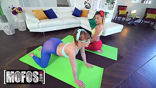Share My BF - Zac Wild Sailor Luna Ella Reese - Yoga