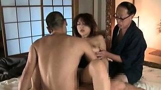 Prodigious Reiko Nakamori enjoys extreme sex