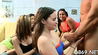 College beauty gets drilled