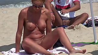 Very hot nude milf big tits pierced pussy bulgarian beach
