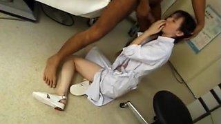 Hottest Japanese nurse sex