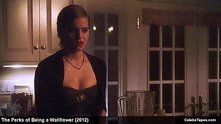 Emma watson, mae whitman &amp nina dobrev lingerie and bikini