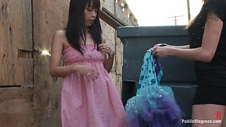 Favorite in Japan Marica Hase comes to USA to get FUCKED in PUBLIC for the FIRST TIME