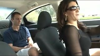 Cuckold hubby joins his wife and her bi lover