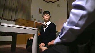 japanese 18yo school cute fucks the old man in the bath