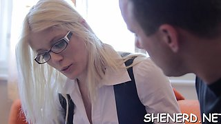 Schlong penetrated tight sissy of ambitious doll katya