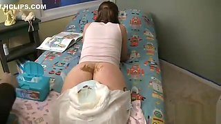 Messy Diaper Punishment 0001 Juniper Rt0-1mdp-1