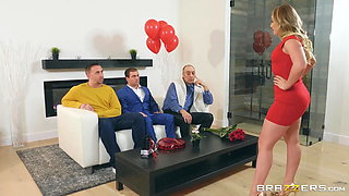 AJ Applegate gives her asshole for Valentine's day