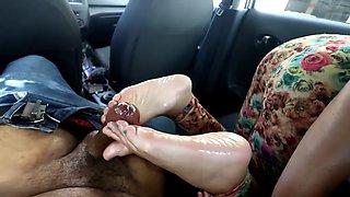 Sexy hispanic feet FJ