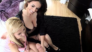 Mofos - Busted Babysitters - MILF and Spinner