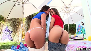 Sexy Amara Romani takes a royal ass fucking with the help