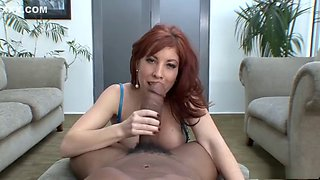 Redhead milf blowjob pov monster bbc