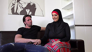 THOMAS FUCKED HIS BUSTY MUSLIM SISTER-IN-LAW
