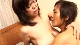 Japanese granny nailed hard in several ways