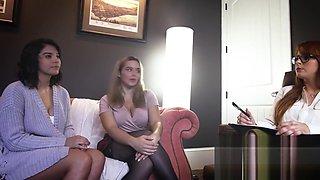 Violet Starr wants Mommy - Natasha Nice - to Spank her