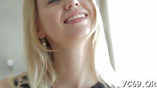 Aroused barely legal blonde jalace enjoys shaking her shapes