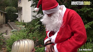 AMATEUR EURO Christmas Anal Sex With Hot French Alix Feeling