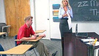 Brazzers - Big Tits at School - Highbrow Pussy scene starrin
