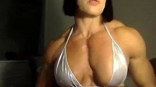Female Bodybuilder Rene Campbell Webcam