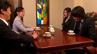 Yuna Shiina, Maki Mizusawa in Slave Appearance Stage 16 part 3.3