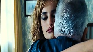 Penelope Cruz does hot strip dance in some sexy black