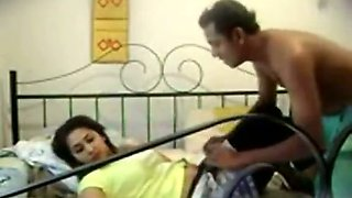 Screwing my brazen Indian babe doggystyle in her bedroom