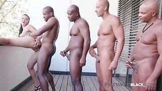 Private black sweet hot vanessa vaughn bangs 4 black cocks