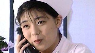 Eri Ueno nurse is fucked on hospital bed