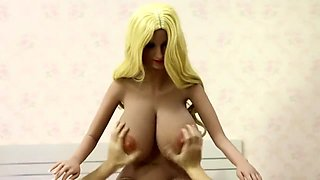Fucking Massive Boobs sex goddes doll