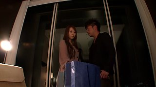 Horny Japanese chick Jessica Kizaki in Amazing cumshots, couple JAV scene