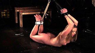 Hardcore BDSM spanking teen ass punishment bondage