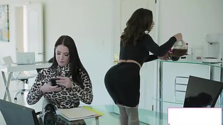 Boss And Secretary Take Turns Fucking Each Others Ass