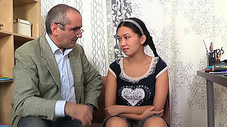 Ravishing russian chick enjoys a hefty donga