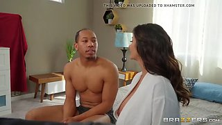 Step mom makes step son late from date by fucking him