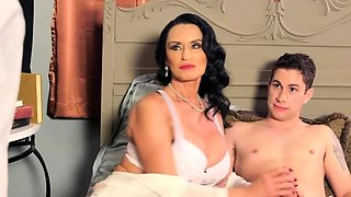 Busty Housewife Fucked in Front of Her Husband