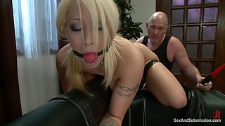 A submissive housewife