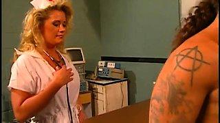 Horny nurse seduces her patient