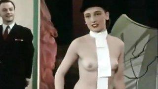 Vintage French Burlesque - Ah Les Belles Baccantes 1954(Excerpt Clip)
