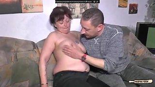 Hausfrau fickt handwerker