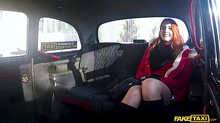 Charlie Red adores when the driver cum on her cunt in the taxi