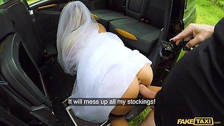 Tara Spades & John Bishop in Bride creampied on her wedding day - FakeHub