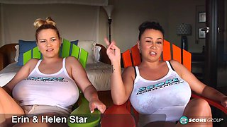 The Star Sisters Are Big-Boobed Swinging Stars - ScoreLand
