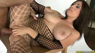 Eloa getting fucked like a dirty freak after the photshoot!