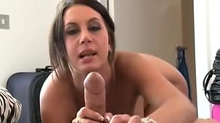 British wench Emma Ass talks smutty and receives screwed