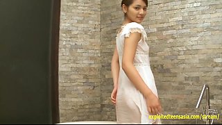 Stunning Tsubasa Akimoto Debut Teen Teases And Gets Sensual Massage Very Cute Schoolgirl Gravure Star