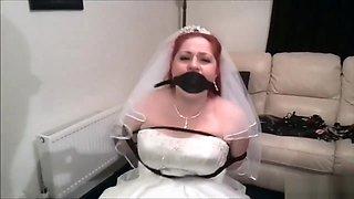 Bride gag in bondage
