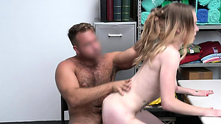 ShopLyfter - Small Tits Blonde Gets Punished