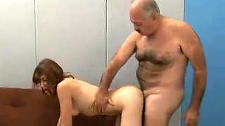 Argentinian Teen Fucks Old Man (Does anyboyd know her name?)